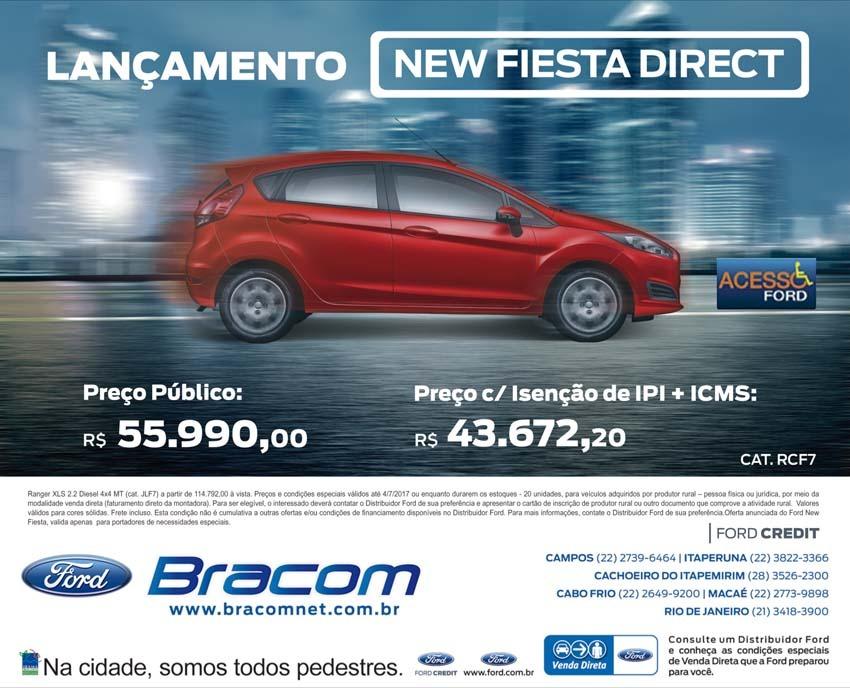 Lançamento New Fiesta Direct