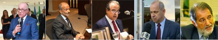 Félix Fisher determina que cinco dos sete Conselheiros do TCE/RJ sejam presos preventivamente