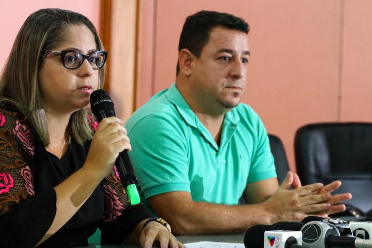 A diretora de Vigilância em Saúde, Andreya Moreira, agora atenta à gravidade da situação