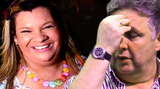 Beth Megafone apontou Garotinho como líder  dos ex-boquinhas noa ataques na redes sociais