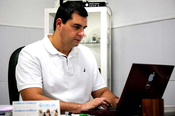 O assessor de fiscalização da Vigilância Sanitária de Campos dos Goytacazes, Márcio Duarte