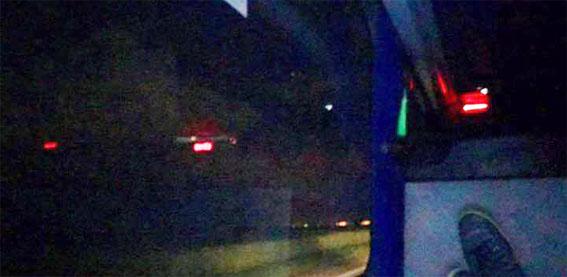 O desconforto em um ônibus em troca da segurança da missão