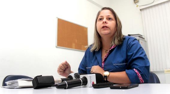 A diretora de Vigilância em Saúde de Campos, Dra. Andréya Moreira