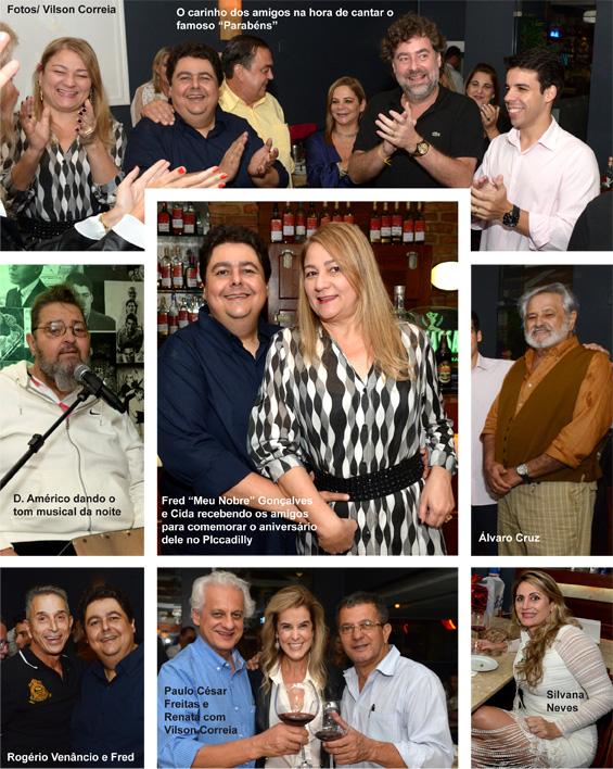 aniversário de Fred Gonçalves