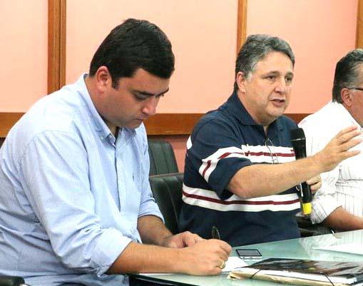 Thiago Godoy e seu líder Garotinho