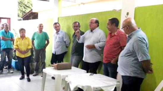 Reunião de instrução aos  ex-boquinhas