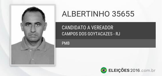 Albertinho não se elegeu e ainda foi condenado