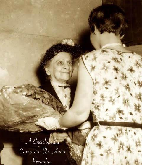 Anita Peçanha era sobrinha neta de dona Rachel