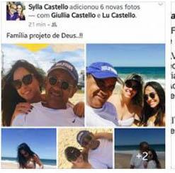 a foto utilizada por Àquila para atacar: Família um projeto de Deus