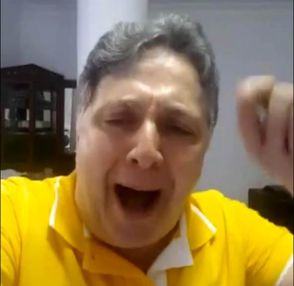 Mal disfarçadamente, Garotinho lança a sua candidatura em vídeo amador, mas bastante revelador