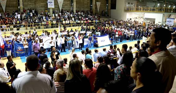 Depois de 10 anos, a tradição dos Jogos Estudantis de Campos (JECs) foi retomada