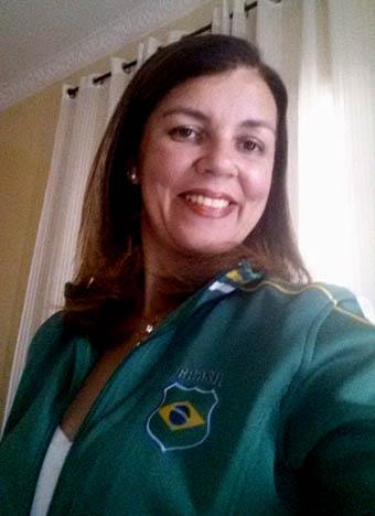 A diretora Jailza Nunes