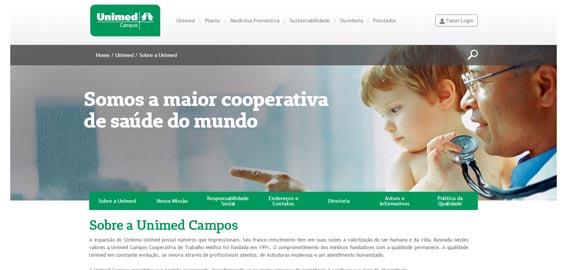 O aviso de descredenciamento da Rad Med já não figura na página de abertura do site da Unimed/Campos, mas ontem a publicidade ainda podia ser ouvida em emissora de rádio