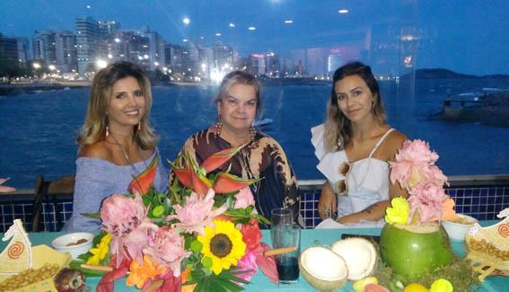 Lalinha Paes com Fernanda