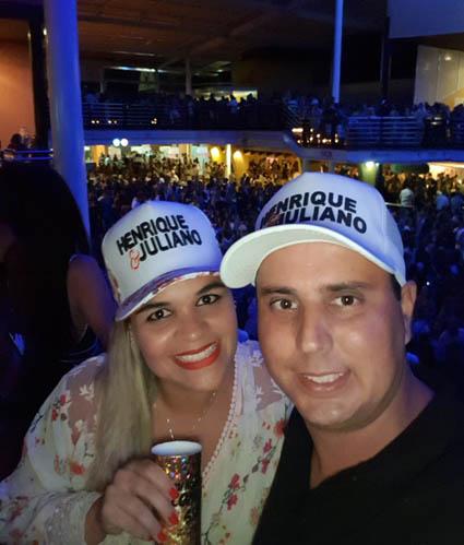 Bianca Pessanha e Douglas Leonard