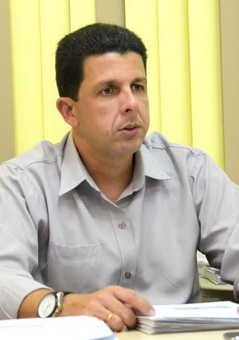 O secretário de Gestão Pública, André Oliveira