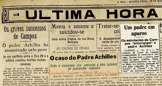 Recortes de Jornal da época - Vítima ou Culpado?