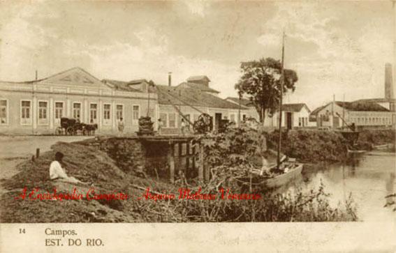 O Antigo Porto da Lapa no início do século XX