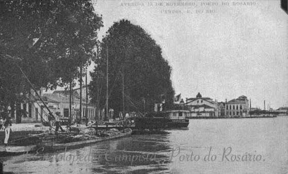 O Antigo Porto do Rosário