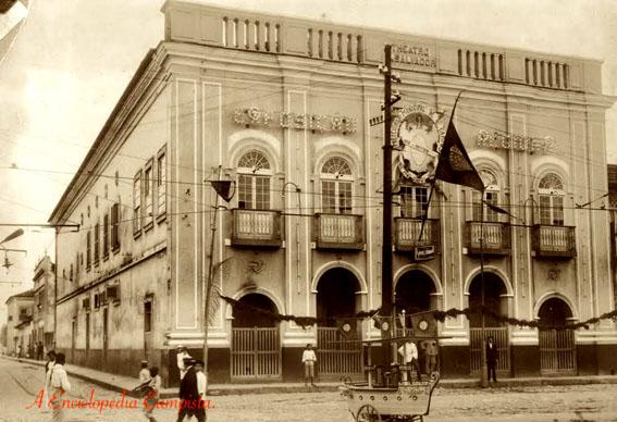 O Antigo Teatro São Salvador em Campos
