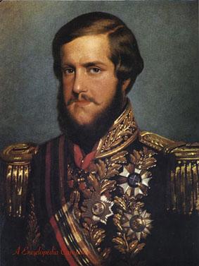 O Jovem Imperador Pedro II do Brasil