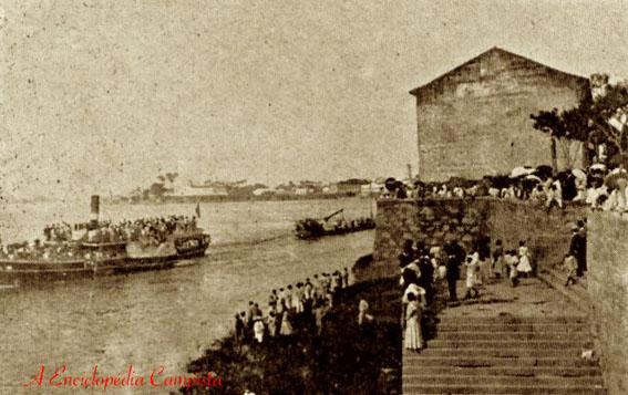 Porto do Ingá na primeira metade do século XX